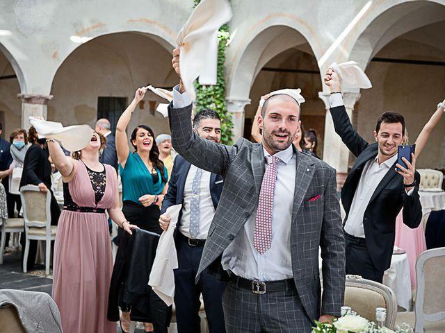 Il matrimonio di Marco e Elena a Bonate Sopra, Bergamo 48
