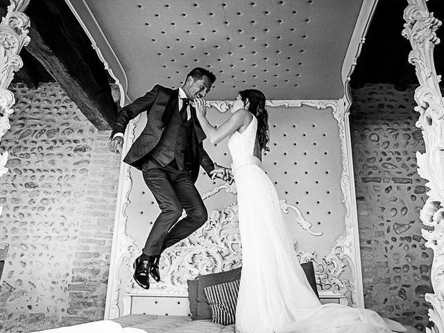 Il matrimonio di Marco e Elena a Bonate Sopra, Bergamo 56