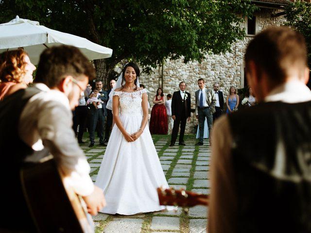Il matrimonio di Francesco e Gina a Calolziocorte, Lecco 33