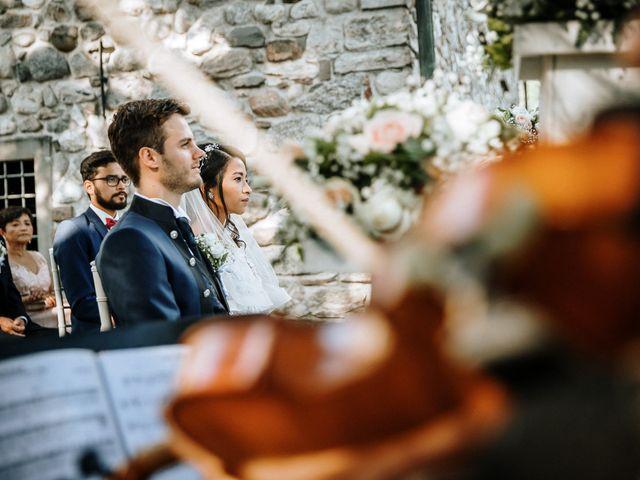 Il matrimonio di Francesco e Gina a Calolziocorte, Lecco 73