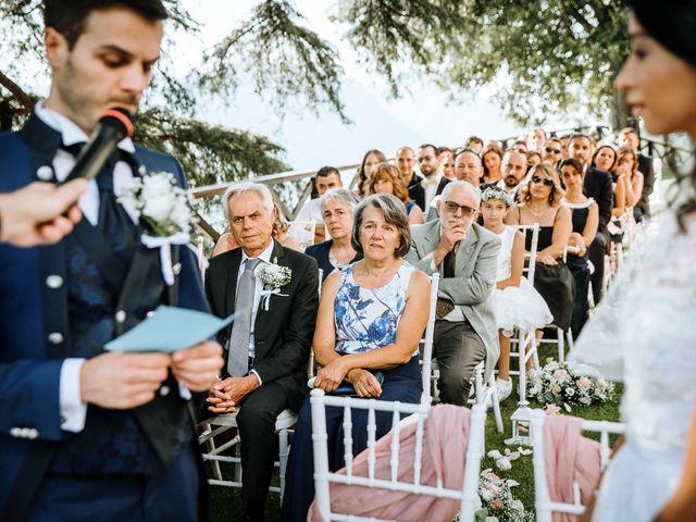 Il matrimonio di Francesco e Gina a Calolziocorte, Lecco 79