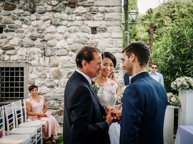 Il matrimonio di Francesco e Gina a Calolziocorte, Lecco 83