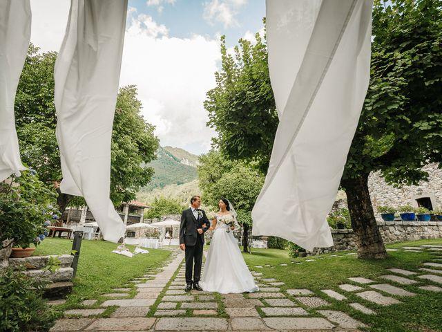 Il matrimonio di Francesco e Gina a Calolziocorte, Lecco 86