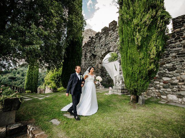 Il matrimonio di Francesco e Gina a Calolziocorte, Lecco 87