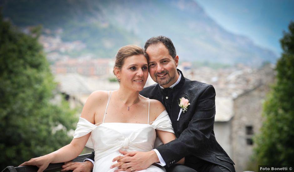 Il matrimonio di Maurizio e Maura a Susa, Torino