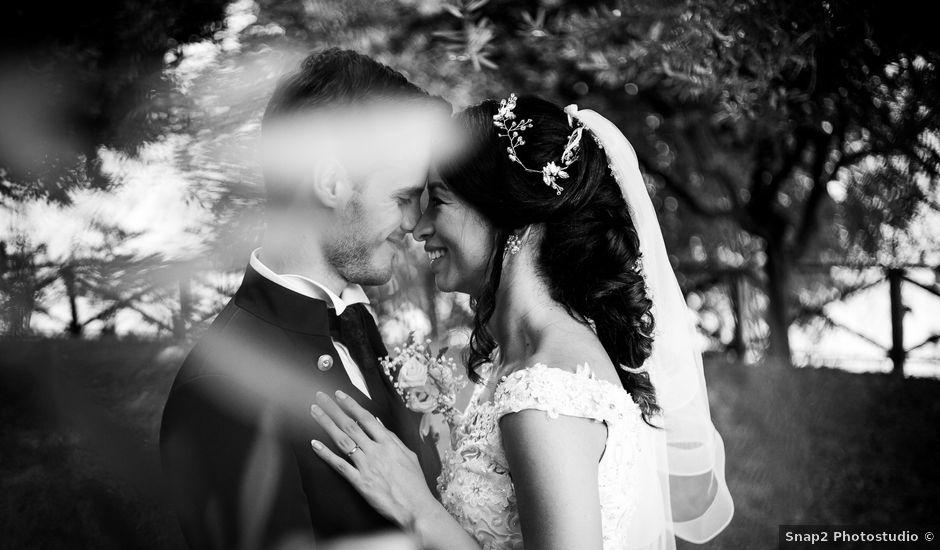 Il matrimonio di Francesco e Gina a Calolziocorte, Lecco