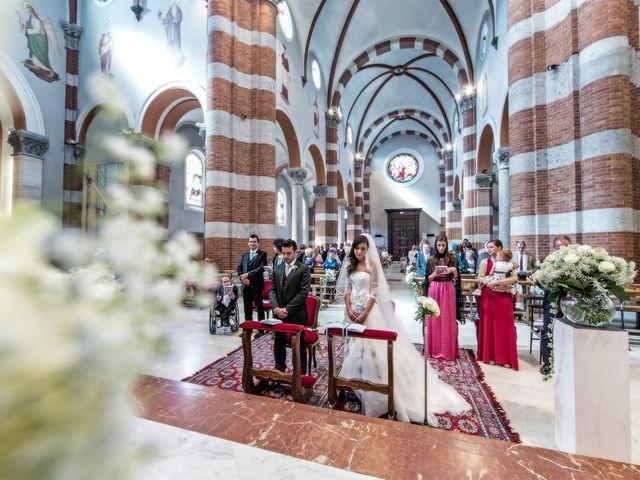 Il matrimonio di Luca e Monica a Magnago, Milano 15