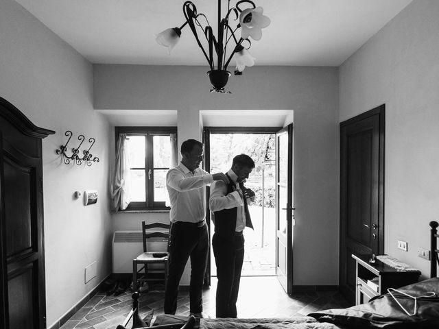 Il matrimonio di Michel e Kristine a Volterra, Pisa 4