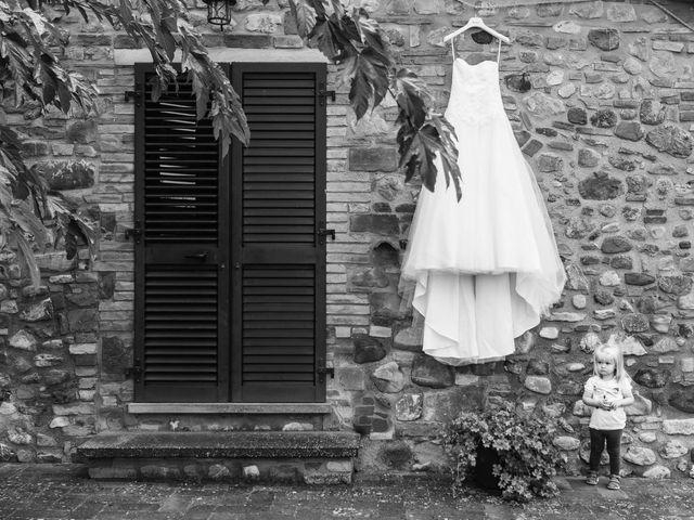 Il matrimonio di Michel e Kristine a Volterra, Pisa 7