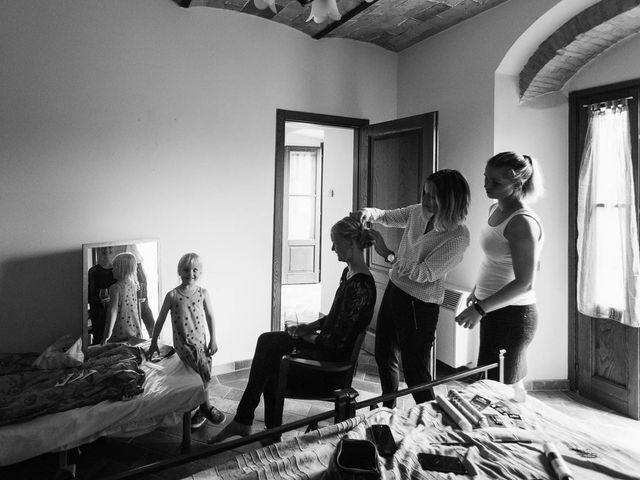 Il matrimonio di Michel e Kristine a Volterra, Pisa 9