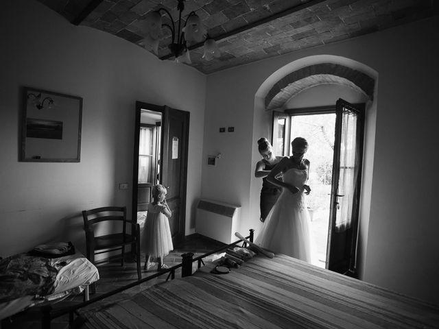 Il matrimonio di Michel e Kristine a Volterra, Pisa 14