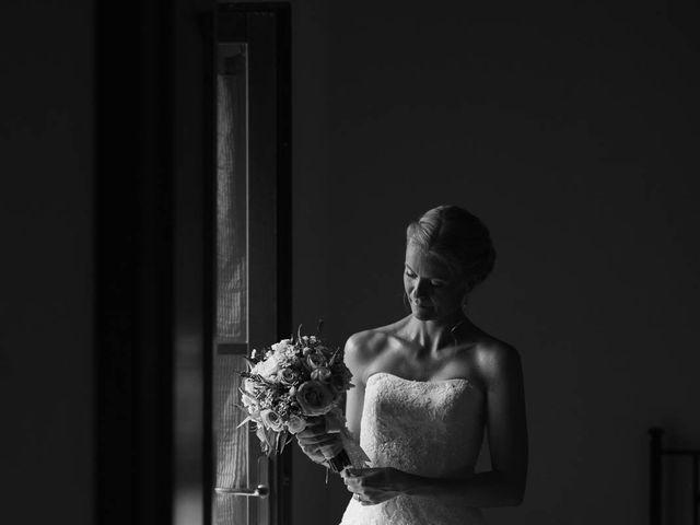 Il matrimonio di Michel e Kristine a Volterra, Pisa 16