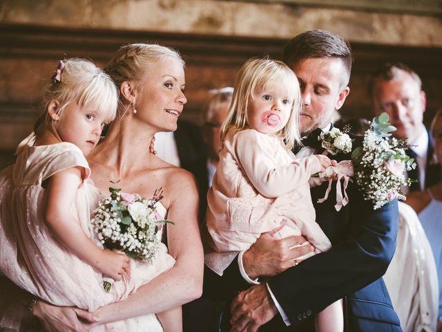 Il matrimonio di Michel e Kristine a Volterra, Pisa 26