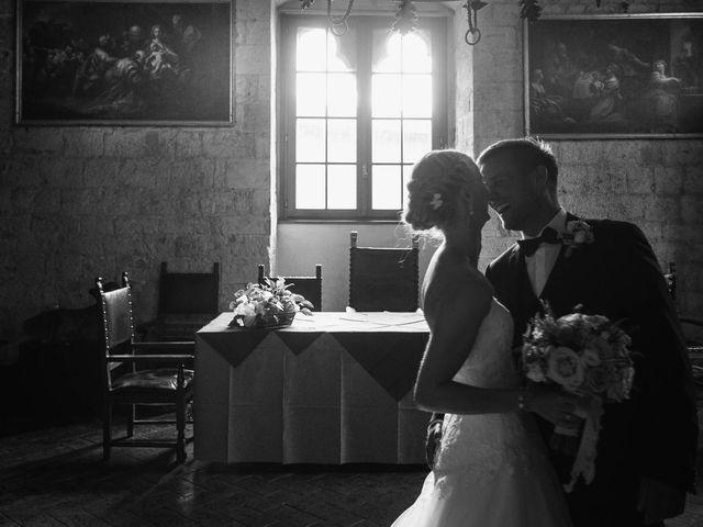 Il matrimonio di Michel e Kristine a Volterra, Pisa 27