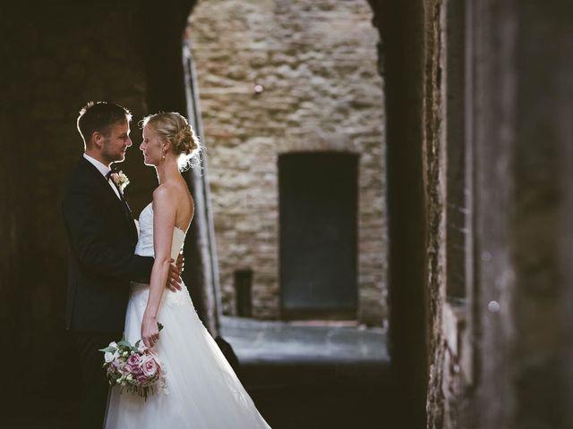 Le nozze di Kristine e Michel