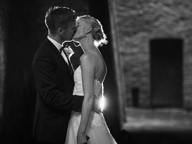 Il matrimonio di Michel e Kristine a Volterra, Pisa 29