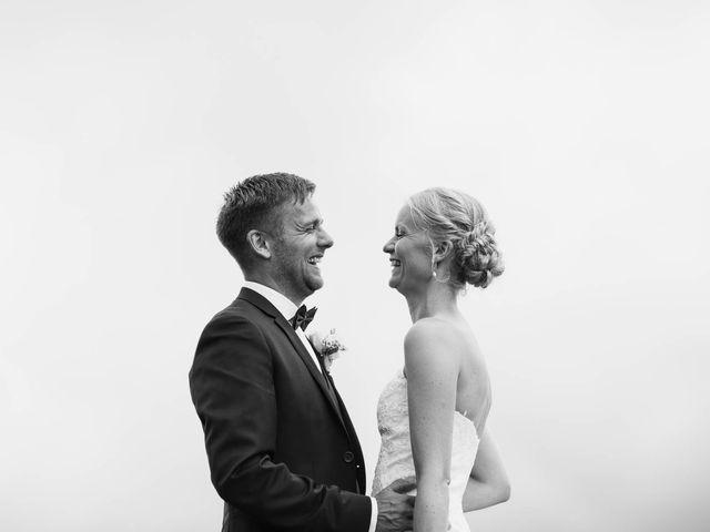 Il matrimonio di Michel e Kristine a Volterra, Pisa 32