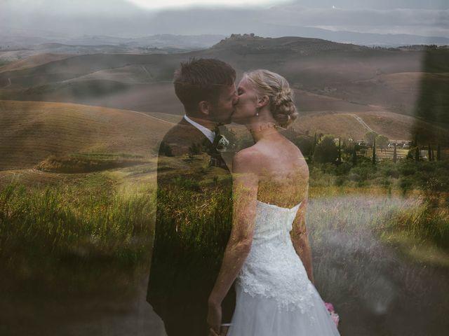 Il matrimonio di Michel e Kristine a Volterra, Pisa 34