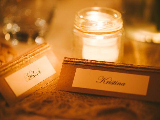 Il matrimonio di Michel e Kristine a Volterra, Pisa 36
