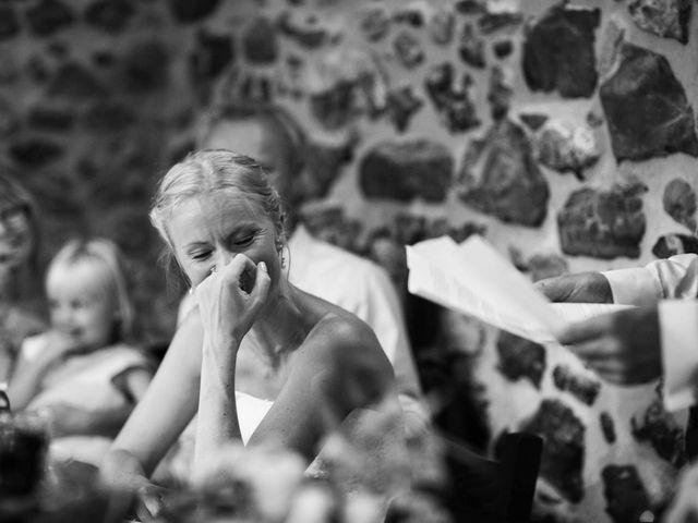 Il matrimonio di Michel e Kristine a Volterra, Pisa 38