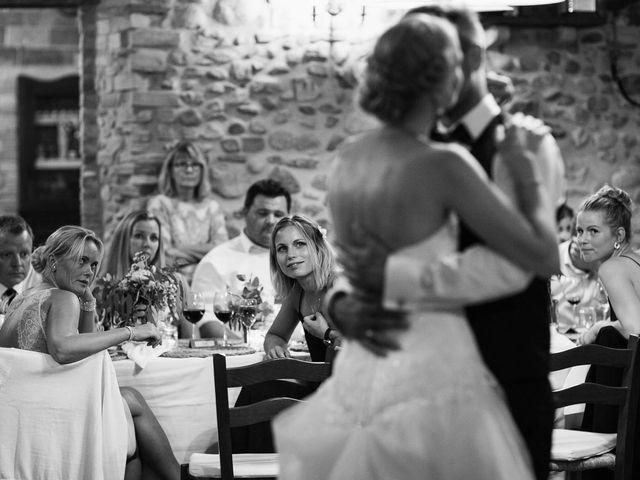 Il matrimonio di Michel e Kristine a Volterra, Pisa 40