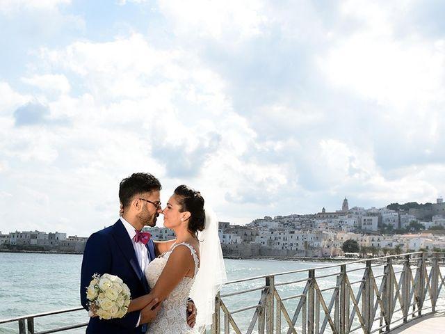 Il matrimonio di Gianluca e Natascia a Vieste, Foggia 58