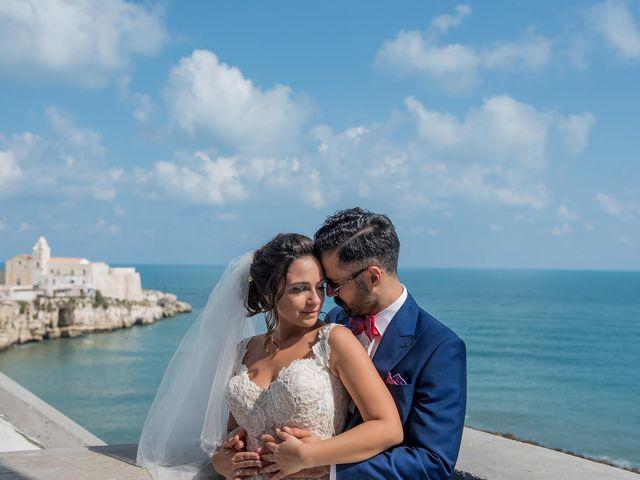 Il matrimonio di Gianluca e Natascia a Vieste, Foggia 71