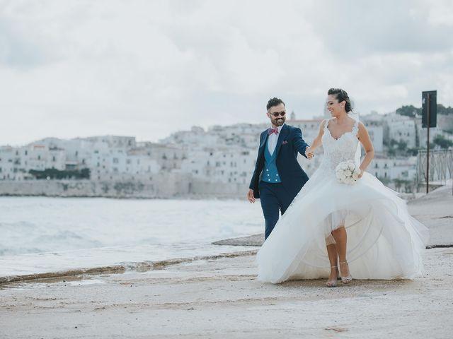 Il matrimonio di Gianluca e Natascia a Vieste, Foggia 1