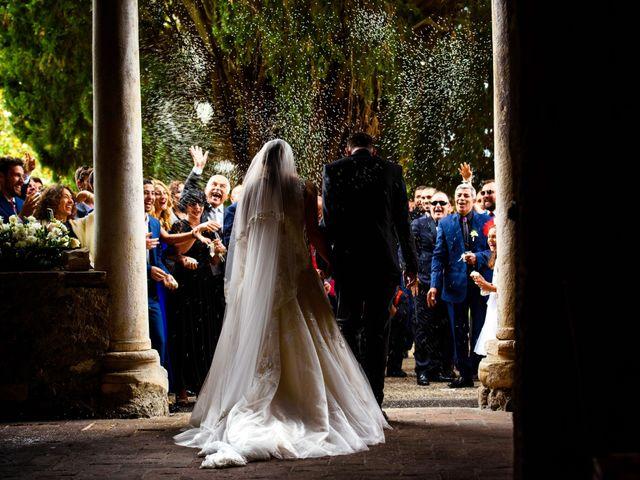 Il matrimonio di Samir e Francesca a Bracciano, Roma 15