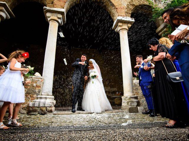 Il matrimonio di Samir e Francesca a Bracciano, Roma 16