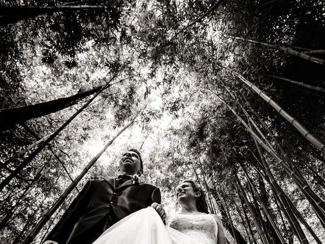 Il matrimonio di Samir e Francesca a Bracciano, Roma 20