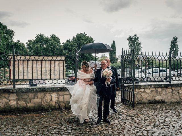 Il matrimonio di Davide e Dora a Corfinio, L'Aquila 8