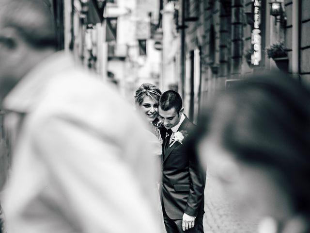 Il matrimonio di Davide e Dora a Corfinio, L'Aquila 14