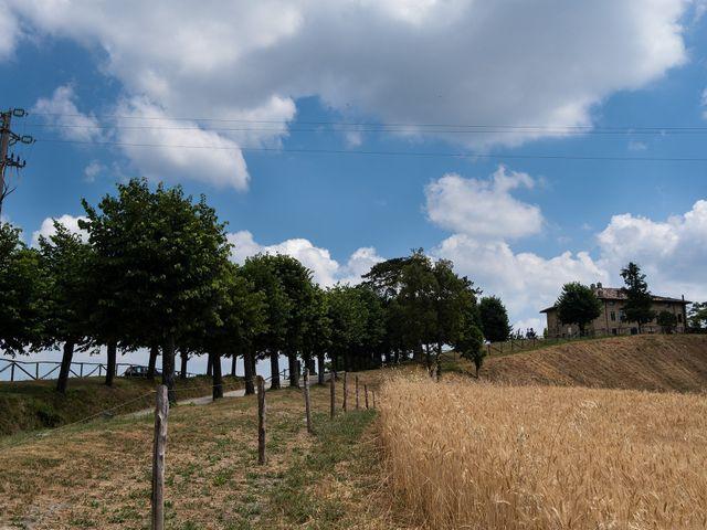 Il matrimonio di Andrea e Eliana a Rocca Susella, Pavia 1