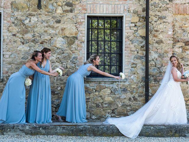 Il matrimonio di Andrea e Eliana a Rocca Susella, Pavia 10