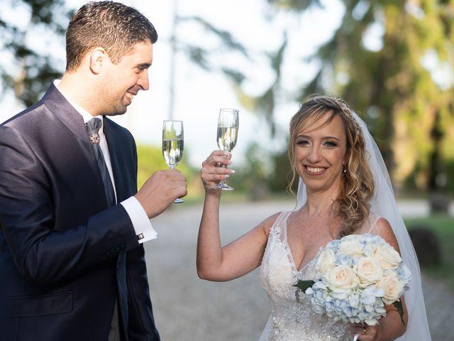 Il matrimonio di Andrea e Eliana a Rocca Susella, Pavia 16