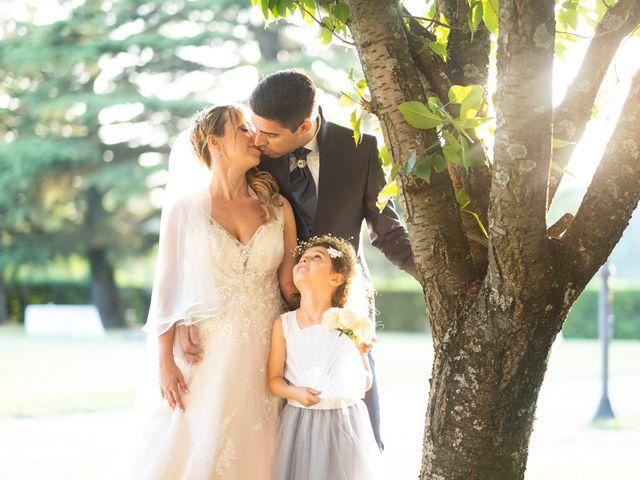 Il matrimonio di Andrea e Eliana a Rocca Susella, Pavia 21