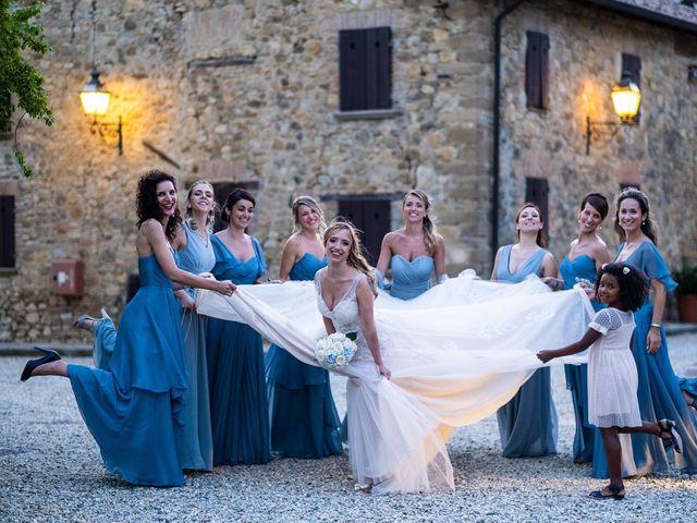 Il matrimonio di Andrea e Eliana a Rocca Susella, Pavia 23