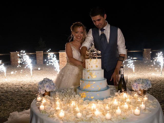 Il matrimonio di Andrea e Eliana a Rocca Susella, Pavia 24