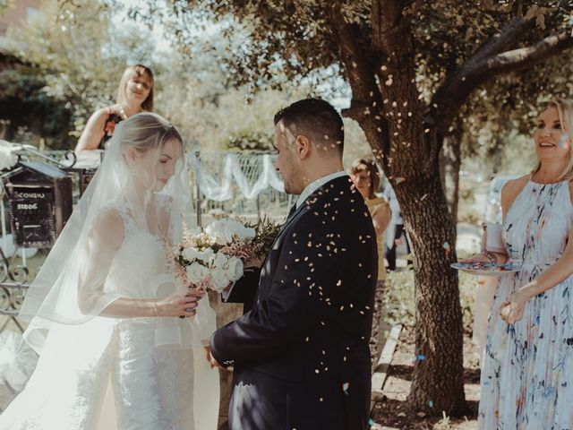 Il matrimonio di Davide e Sarah a Atzara, Nuoro 78