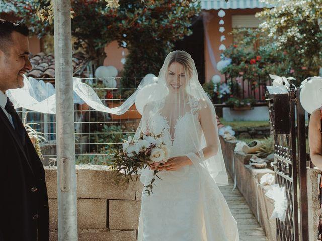 Il matrimonio di Davide e Sarah a Atzara, Nuoro 83