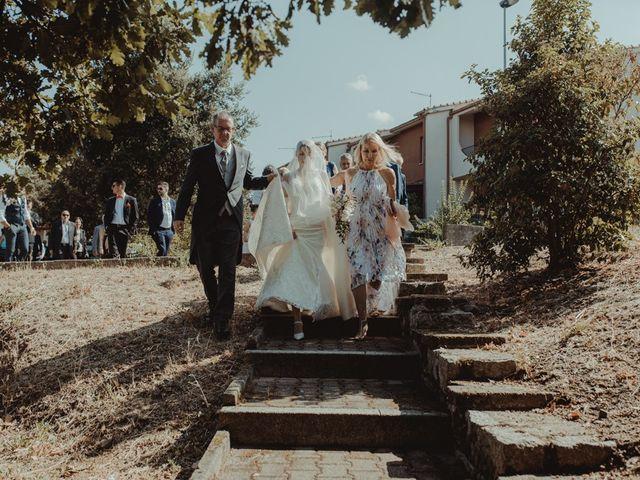 Il matrimonio di Davide e Sarah a Atzara, Nuoro 86