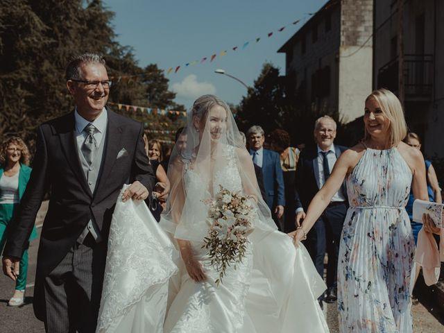 Il matrimonio di Davide e Sarah a Atzara, Nuoro 89