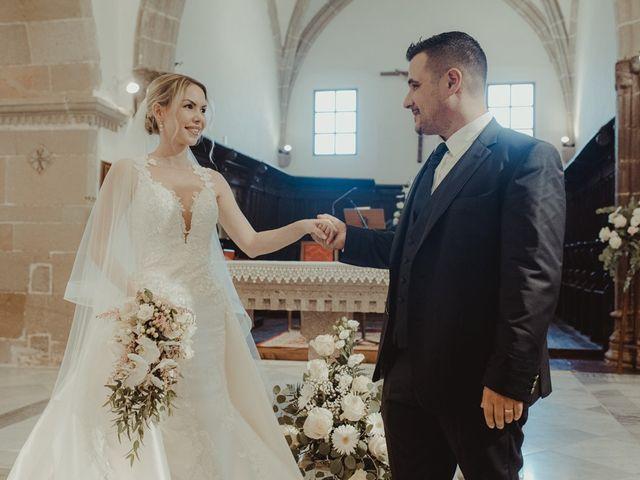 Il matrimonio di Davide e Sarah a Atzara, Nuoro 129