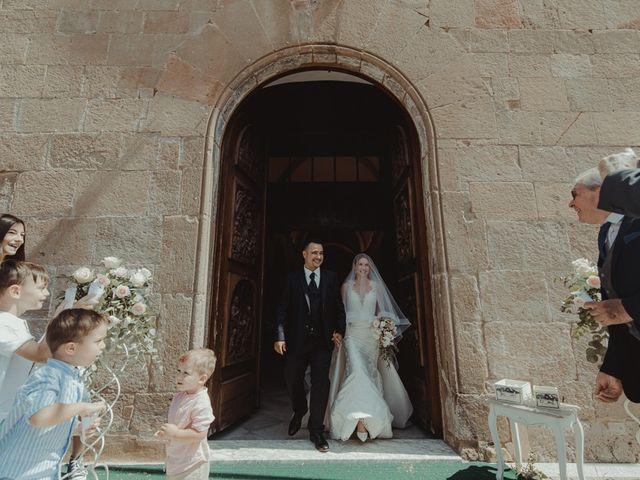 Il matrimonio di Davide e Sarah a Atzara, Nuoro 135