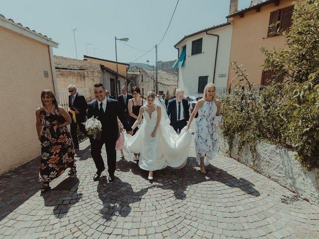 Il matrimonio di Davide e Sarah a Atzara, Nuoro 145