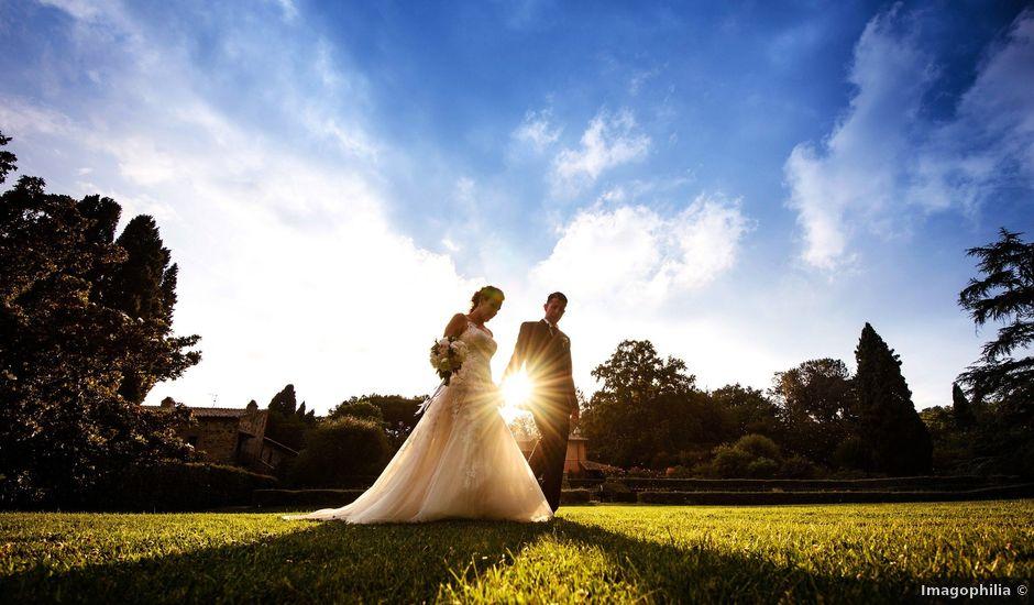 Il matrimonio di Samir e Francesca a Bracciano, Roma
