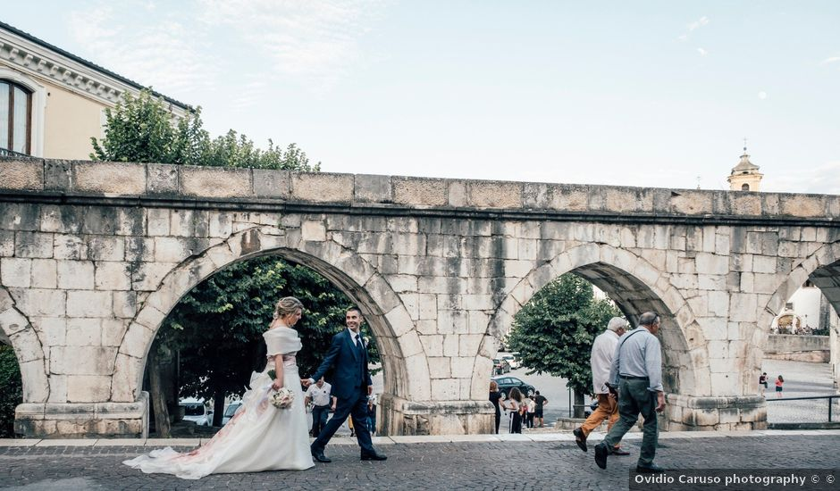 Il matrimonio di Davide e Dora a Corfinio, L'Aquila