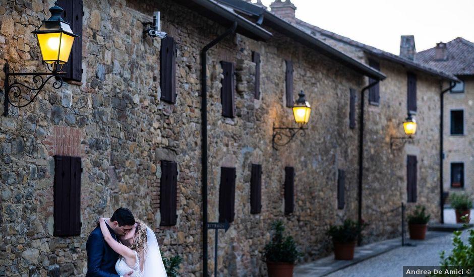 Il matrimonio di Andrea e Eliana a Rocca Susella, Pavia