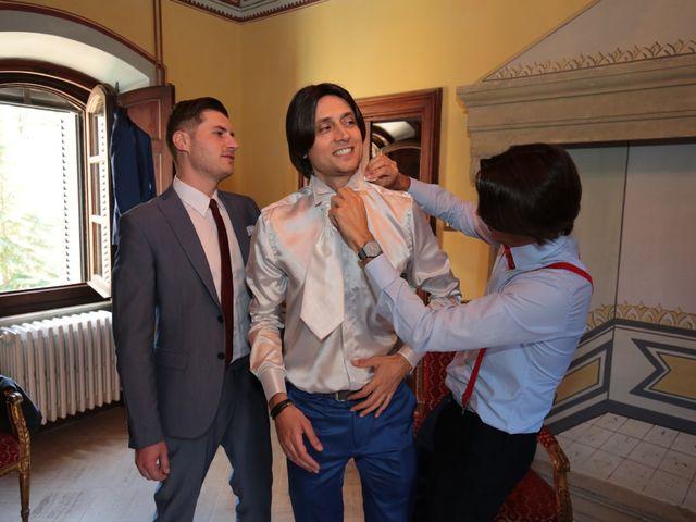 Il matrimonio di Marco e Elena a Subbiano, Arezzo 17